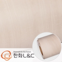 한화인테리어필름 - W935    스탠다드우드 메이플 무늬목 시트지 / 가구 · 테이블 · 방문