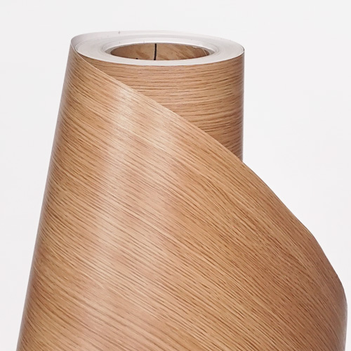 한화인테리어필름 - W943    스탠다드우드 오크 무늬목 시트지 / 가구 · 테이블 · 방문