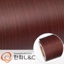 한화인테리어필름 - W689    스탠다드우드 셰리 무늬목 시트지 / 가구 · 테이블 · 방문