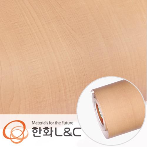 한화인테리어필름 - W531    스탠다드우드 시카모어 무늬목 시트지 / 가구 · 테이블 · 방문