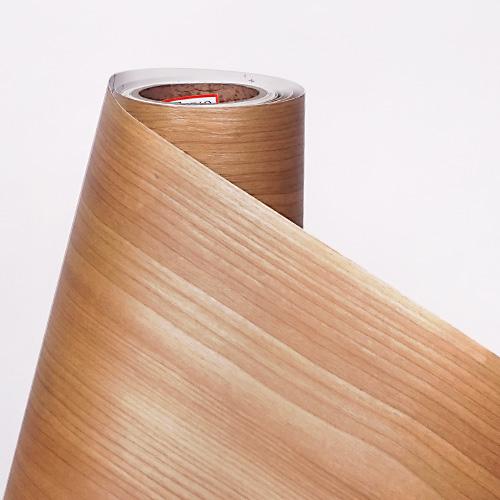한화인테리어필름 - W251    스탠다드우드 부빙가 무늬목 시트지 / 가구 · 테이블 · 방문