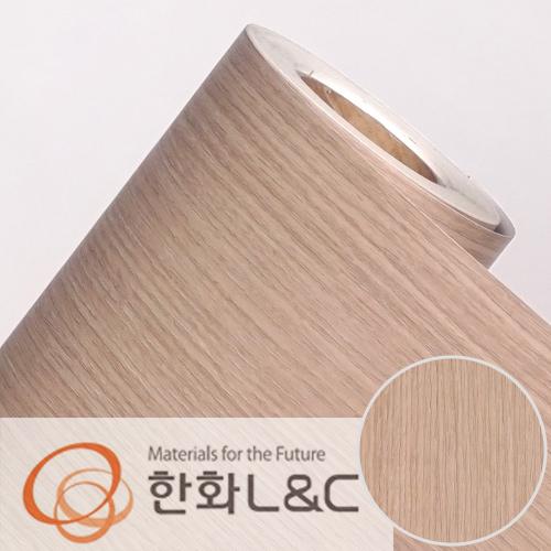 한화인테리어필름 - W157    스탠다드우드 오크 무늬목 시트지 / 가구 · 테이블 · 방문