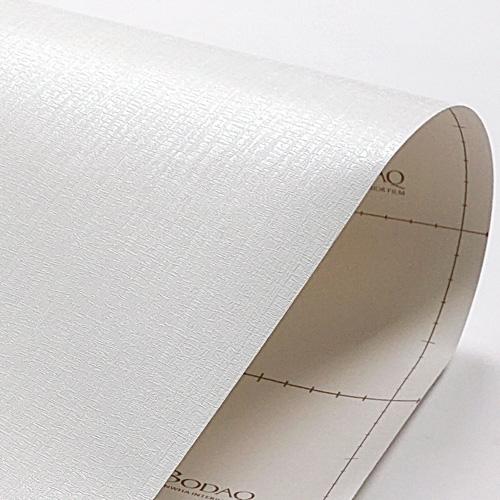 한화인테리어필름 - LS104   화이트 흰색 무늬목 시트지 / 가구 · 테이블 · 방문