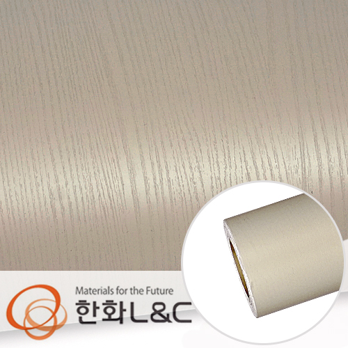 한화인테리어필름 - PTW03 <br> 베이지브라운 페인티드우드 시트지 / 가구 · 싱크대 · 현관문