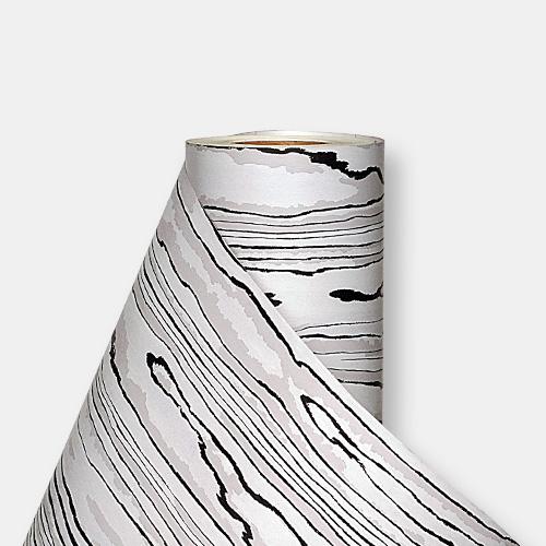 한화인테리어필름 - DW714    쿠앤크 블랙화이트 디자인우드 시트지 / 가구 · 싱크대 · 현관문