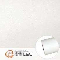 한화인테리어필름 - LS108   화이트 흰색 물결무늬 시트지 / 가구 · 테이블 · 방문
