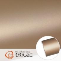 현대엘앤씨 인테리어필름 냉장고 메탈시트지 방염 DM112