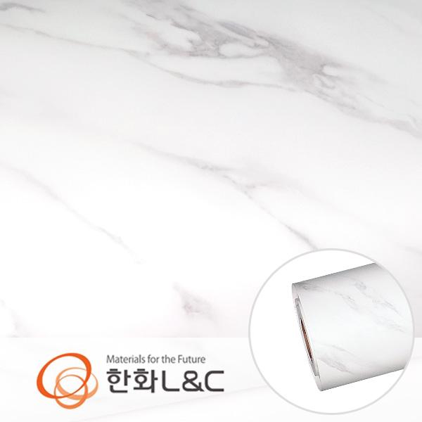 한화인테리어필름 - NS814  무광 대리석 마블 시트지 / 싱크대 · 테이블상판 · 주방