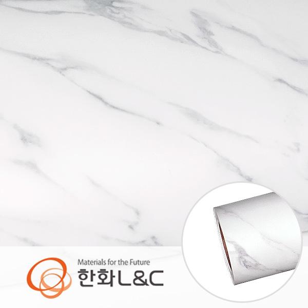 한화인테리어필름 - NS815  무광 대리석 마블 시트지 / 싱크대 · 테이블상판 · 주방