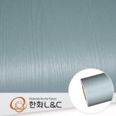 한화인테리어필름 - PTW06  터키쉬 블루 페인티드우드 시트지 / 가구 · 싱크대 · 현관문