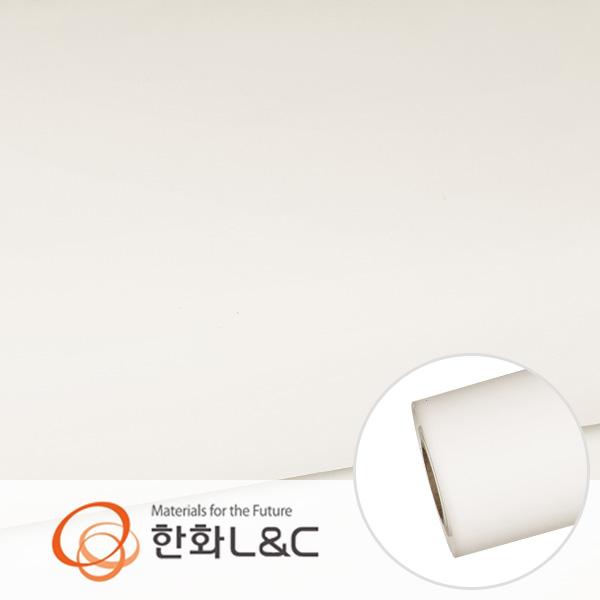 한화인테리어필름 - S178  화이트계열 솔리드 백색 단색 시트지 / 가구 · 싱크대 · 현관문