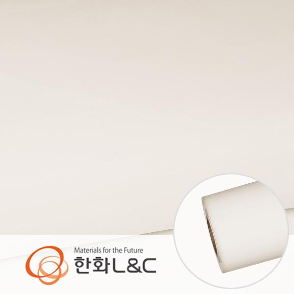한화인테리어필름 - S177  화이트계열 솔리드 백색 단색 시트지 / 가구 · 싱크대 · 현관문