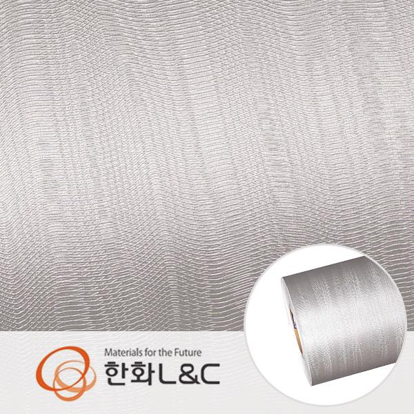 한화인테리어필름 - LM205  물결무늬 메탈 시트지 / 냉장고 · 주방 · 포인트