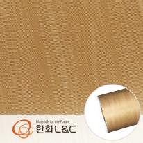 한화인테리어필름 - LM206  물결무늬 메탈 시트지 / 냉장고 · 주방 · 포인트