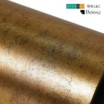 현대엘앤씨 인테리어필름 골드 메탈시트지 APZ05