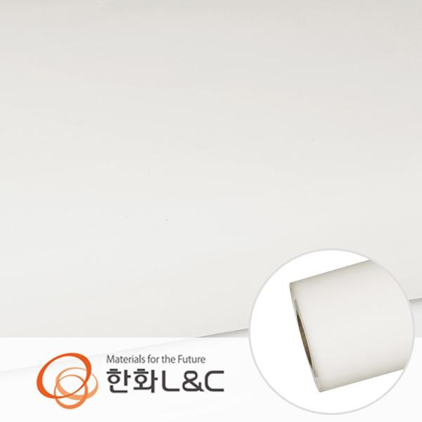 한화인테리어필름 - S216  화이트계열 솔리드 백색 단색 시트지 / 가구 · 싱크대 · 현관문