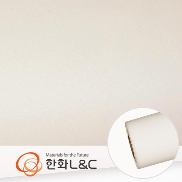 한화인테리어필름 - S141  화이트계열 솔리드 백색 단색 시트지 / 가구 · 싱크대 · 현관문