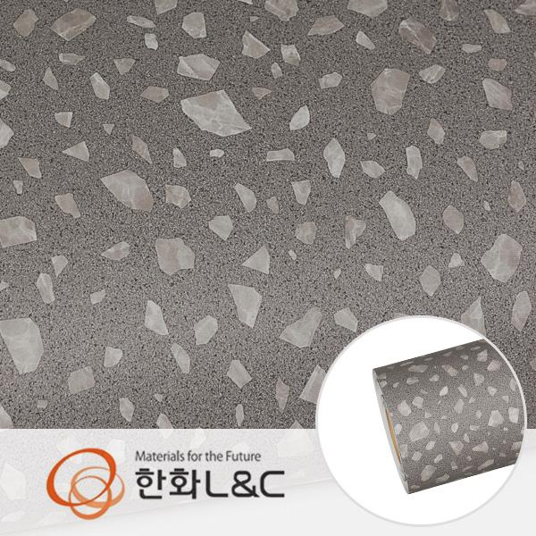 한화인테리어필름 - NS107  테라조 조각 시트지 / 가구 · 아트월 · 포인트