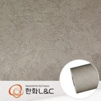 한화인테리어필름 - NS704  노출콘크리트 스톤 시트지 / 아트월 · 포인트 · 현관문