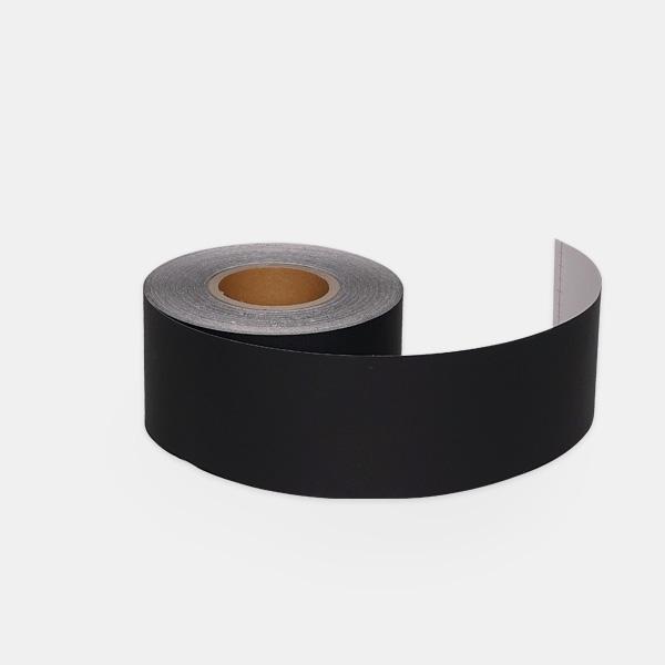 한화인테리어필름 몰딩시트지 블랙 S140