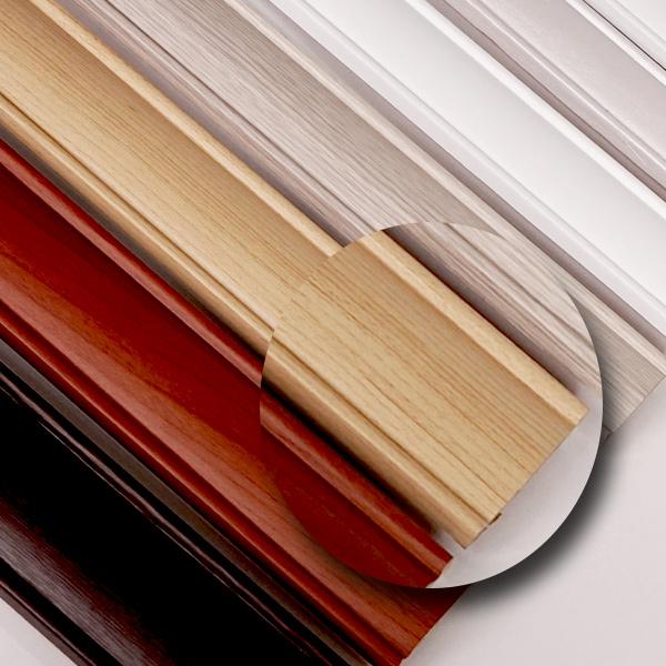 한화인테리어필름 몰딩시트지 무늬목 W401