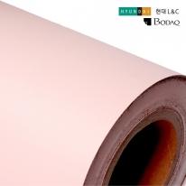 현대엘앤씨 인테리어필름 무광시트지 연핑크 S217