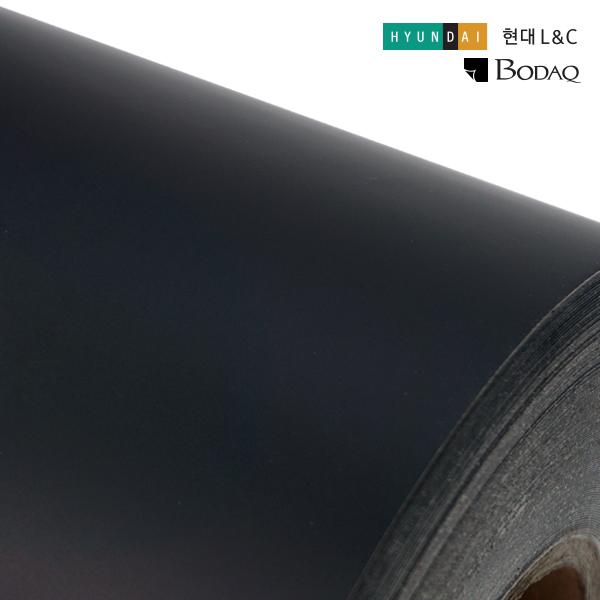 인테리어필름 싱크대시트지 매트블랙 현대엘앤씨 SMT07