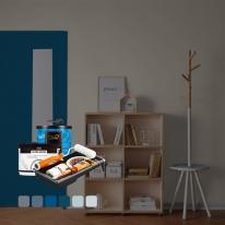 [홈앤톤즈][Best Color Blue]방문페인팅 세트[방문1개용(문틀포함)]