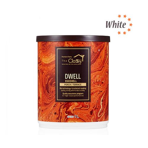 [홈앤톤즈]현관문/베란다용 더클래시 드웰 1L / 백색(화이트)