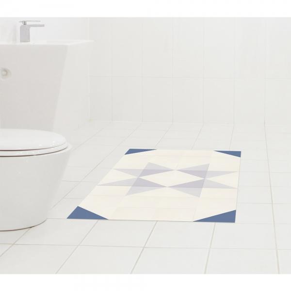욕실 미끄럼방지 매트 디딤타일 모던플라워세트 MGS-12321