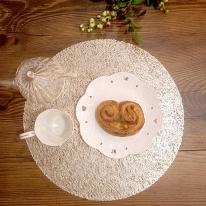 골드 원형 테이블 식탁매트