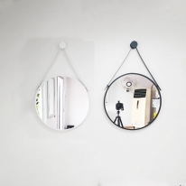 알루미늄 스트랩거울 / 욕실거울 / 원형거울  / 북유럽거울