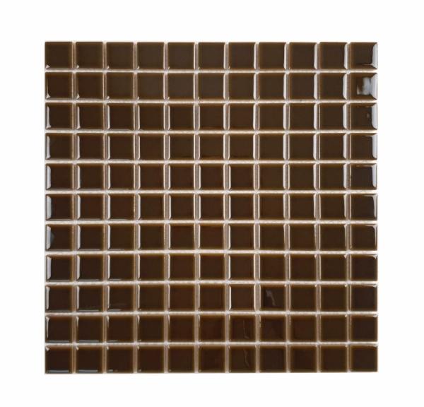[모자이크타일] 정사각형 타일 초콜렛/올리브/로얄블루 유광 G25 / 1박스(11장)