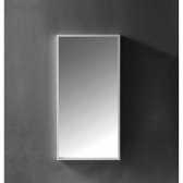 [거울] 아이린 화이트 직사각 아크릴 욕실 화장실 세면대 벽 거울 (400x800x40 / 600x1100x40) HSL-M05L