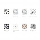 [아트타일] 정사각형 북유럽 패턴 모자이크 타일 200x200 1박스(12장) 8종