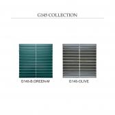 [모자이크타일] 직사각형 직각 타일 블루그린 무광/올리브 유광 1박스(11장) G145
