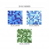 [모자이크타일] 정사각형 미니 공예 유리 타일 랜덤 컬러 믹스 1박스(20장) 3COLOR 25_EU_04