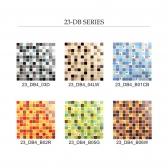 [모자이크타일] 정사각형 동그라미 포인트 미니 컬러 믹스 1박스 6COLOR (11장) 23-DB4
