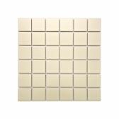 [모자이크타일] 정사각형 정각 타일 아이보리 무광 1박스(11장) G48-IVORY-M