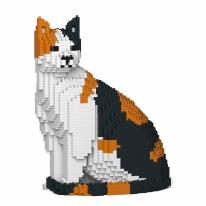 [JEKCA] 앉은 고양이레고 (삼색이)
