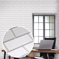 쿠셔니폼블럭 인테리어 셀프벽지 롤 5m 민무늬