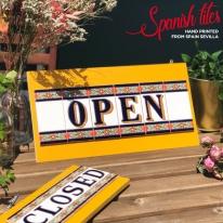 스페니쉬 타일 윤식당 도어사인 M 스페인 개업선물