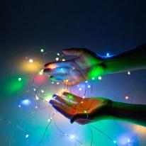 LED 와이어 라인조명 3종