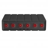 블럭탭 블랙 멀티탭정리함 USB멀티탭 전선정리