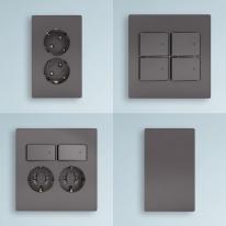 제일전기공업 디노 다크그레이 스위치 콘센트 전기 전등 매입