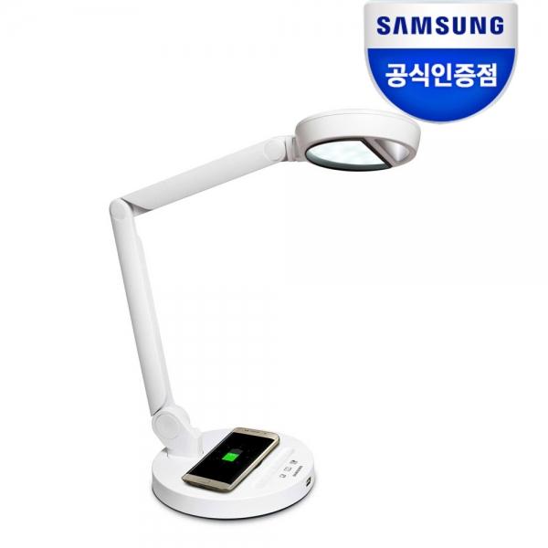 삼성전자 LED 조명 스탠드 USB 충전 단자 탑재 스마트폰 무선충전 기능