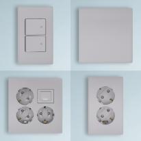 제일전기공업 디노 실버 스위치 콘센트 전기 전등 매입