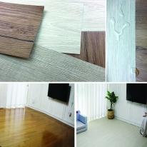 세이프린 99.9% 멸균 바닥시트지 데코타일 친환경 점착식 바닥재 바닥장판 특허기술