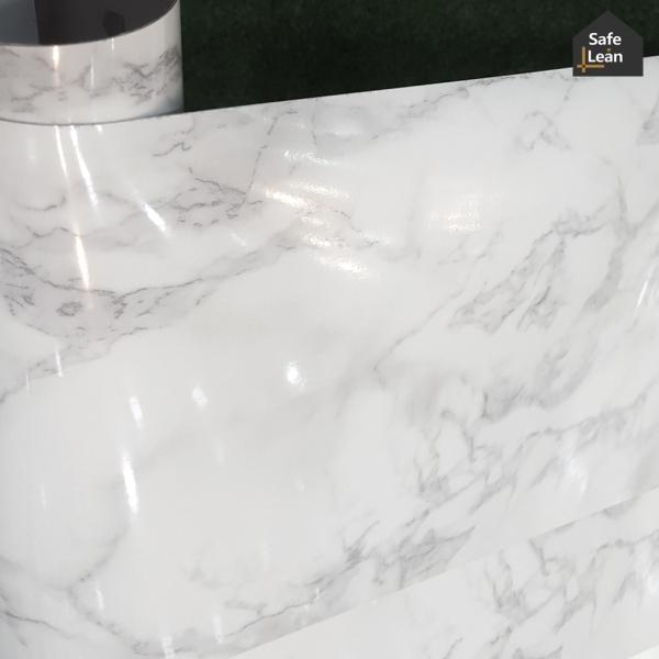 멸균 바닥시트지 대리석 마블무늬-나폴레옹 40cmX100cm