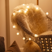 쉽게하는 겨울 포인트 인테리어 두번째 눈송이 전구 단품